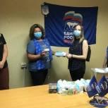 Активисты приобрели медицинские маски для больной девочки из Ясенева