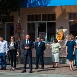 Аркадий Фомин поприветствовал шиловских школьников
