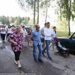 Александр Легков провел выездную встречу с жителями Загорских Далей