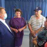 Николай Панков обсудил с жителями ремонт сельских Домов культуры