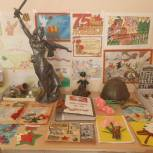 Участникам «Диктанта Победы» в Петровске перед началом акции презентовали тематические выставки