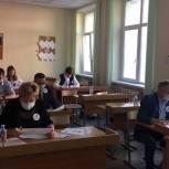 Одинцовские депутаты от «Единой России» приняли участие в акции «Диктант Победы»