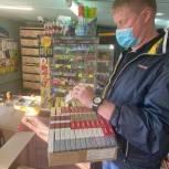 В Ирбите активисты проекта «Народный контроль» и полицейские выявили точки незаконной продажи алкоголя и сигарет