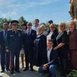 Владимир Вшивцев принял участие в открытии отреставрированных памятников советским воинам в Волоколамске