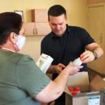 Депутат передал балашовскому лицею технику для защиты детей от инфекций