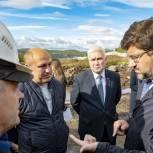 В Мурманске проверили ход строительства детского сада