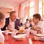 Единороссы Сергиева Посада провели мониторинг питания в Бужаниновской школе