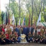 Заложен первый камень в основание будущего сквера студенческих отрядов Пензенской области