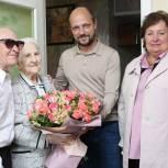 Можайские единороссы поздравили семейную пару с 60-летним юбилеем совместной жизни