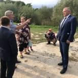 Валентин Суббот поможет решить проблему жителей Погарского района