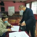 Более 40 тысяч избирателей сделали свой выбор в первый день голосования