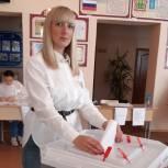 В районах Пензенской области граждане голосуют активно