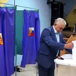 Петр Алабин и Антон Князев проголосовали на выборах депутатов Рязанской областной Думы