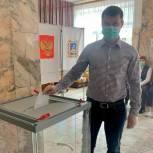 Сергей Перепелов принял участие в голосовании