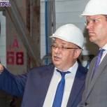 Депутат Госдумы Денис Кравченко осмотрел промышленные предприятия Электростали