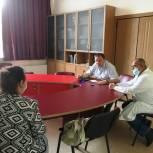 Тематический прием граждан в рамках партпроекта «Здоровое сердце» прошел в Заводском районе