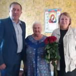 Первомайский район: Денис Желиховский поздравил юбиляра