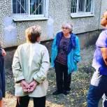 Жители Ленинского района пожаловались на ненадлежащее содержание жилого дома
