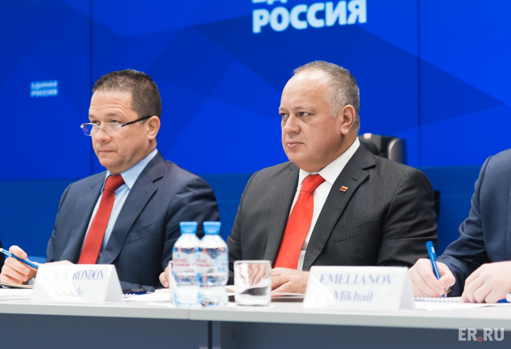 «Единая Россия» провела межпартийные консультации с делегацией Единой социалистической партии Венесуэлы