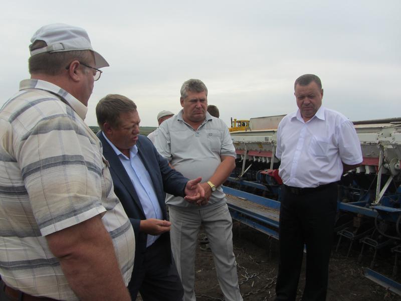 Рабочий визит депутат ГД Николая Панкова в Вольский район