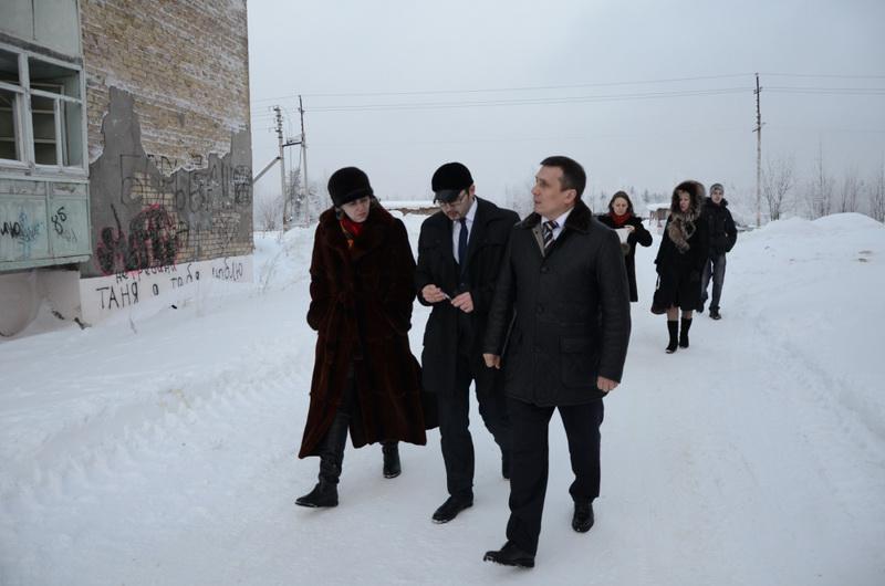 Рабочая поездка Игоря Леонова в Ярегу
