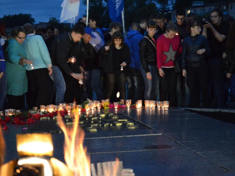 В Пензе прошла акция «Свеча памяти»