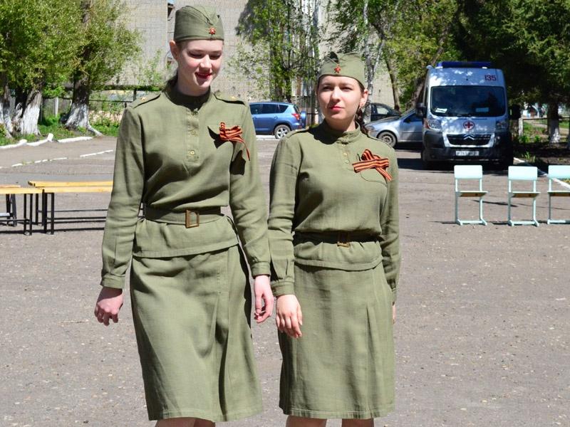 В школе №47 чествовали фронтовиков и тружеников тыла