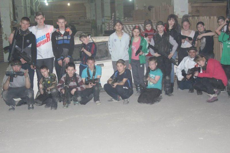 Нижнетагильские молодогвардейцы организовали для воспитанников детдома «Зарницу 21 века» (19.01.2016)