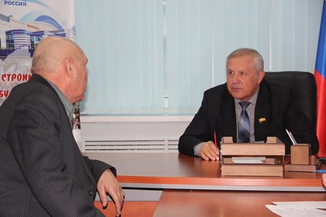 На приеме у депутата Госсовета Чувашии Валерия Павлова