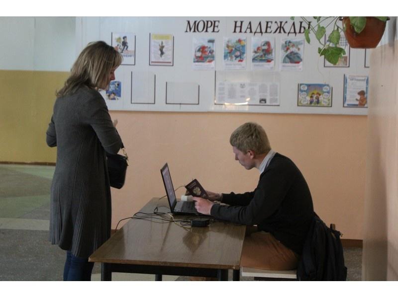 В Усолье-Сибирском открылись счетные участки предварительного голосования