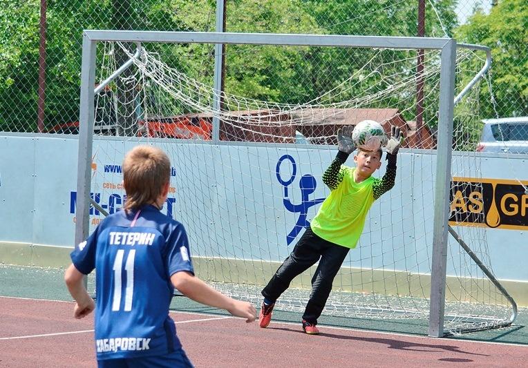 Партпроект «Детский спорт» поддержал турнир по футболу среди дворовых команд  в Хабаровске