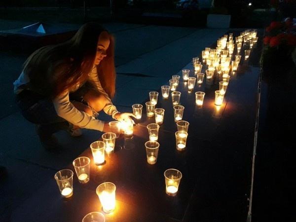 Свеча Памяти в Приангарье