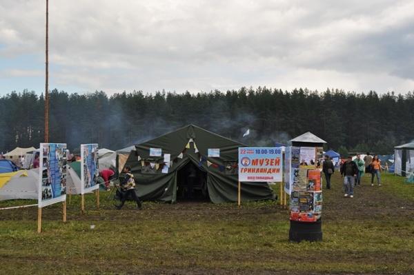 Желающие могли посетить музей фестиваля