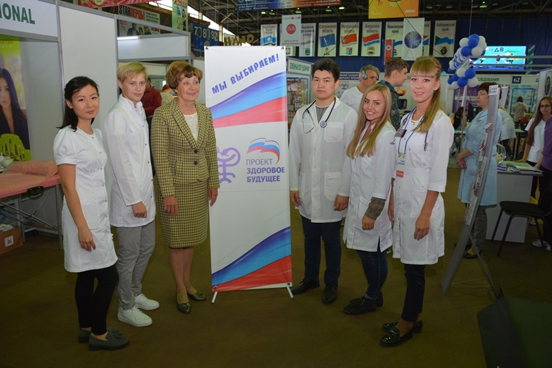 «Ярмарка здоровья» стартовала в Хабаровске при поддержке партпроекта «Единой России»