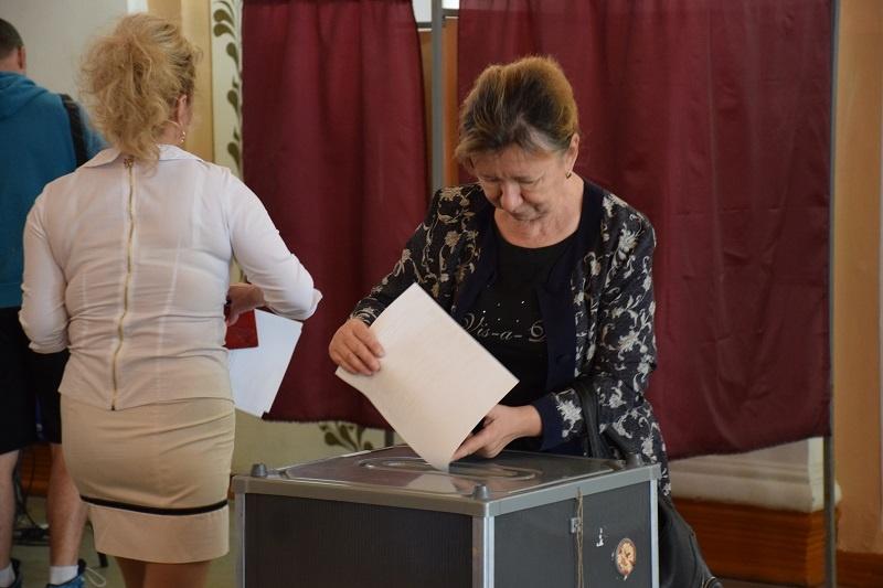 Ход голосования