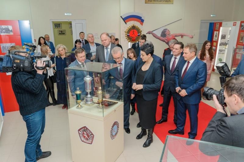 В Пензе открыт музей спорта