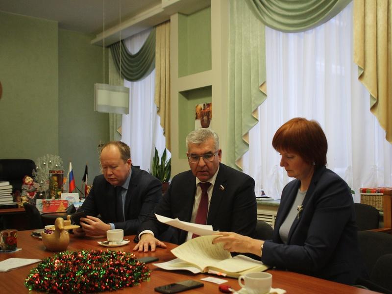 Региональная неделя депутатов Госдумы РФ с 24.12-30.12.18