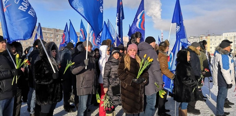 День защитника Отечества на Ямале_(Новый Уренгой)