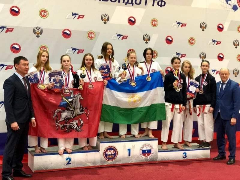 Участники Проекта «Защитник Отечества» привезли 78 медалей