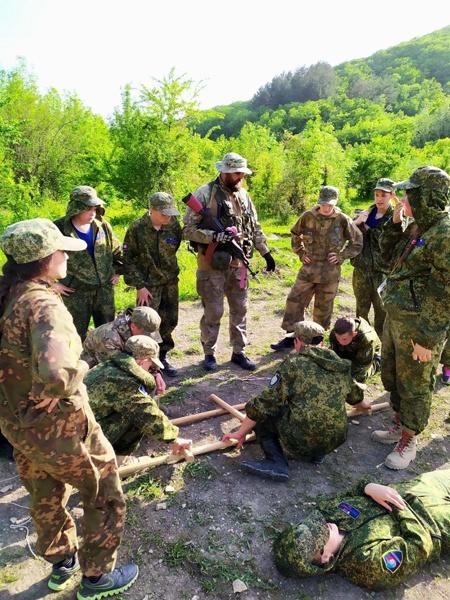 Активисты Проекта «Защитник Отечества» приняли участие во Всероссийских военно-патриотических сменах «Служу Отечеству!»