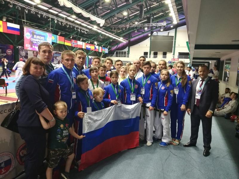 Активисты Проекта Защитник Отечества выступили успешно в чемпионате Европы ро тхэквондо ГТФ