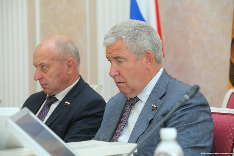 В Законодательном Собрании состоялось заседание фракции «Единая Россия»
