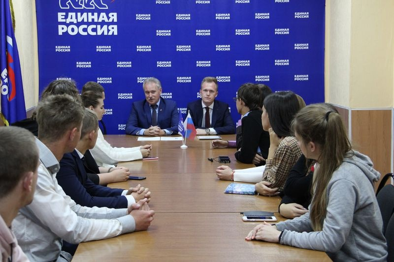 Юрий Дворянинов поблагодарил активистов МГЕР за активную работу