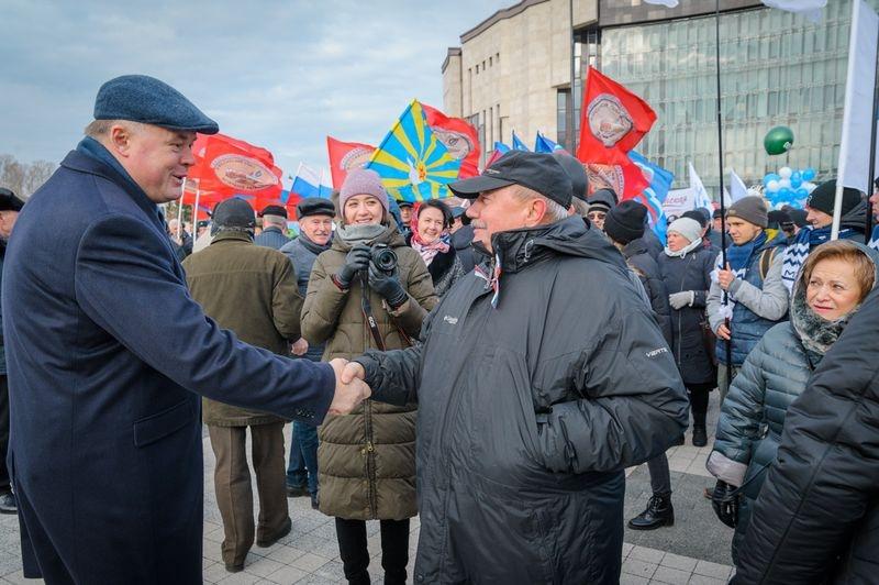 В Пензе на митинге в День народного единства собрались более 6,5 тысяч человек