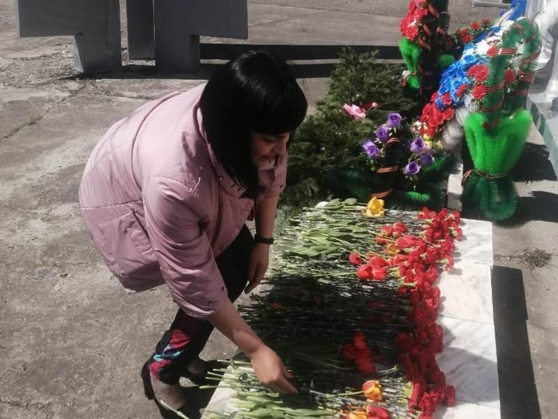 "Акция ""Цветы Победы"""