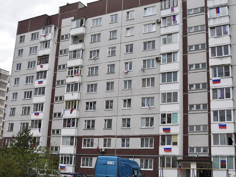 Акция «Флаги России» массово прошла в Великом Новгороде