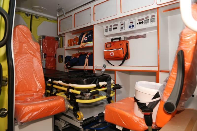 Реанимобиль для центра медицины катастроф