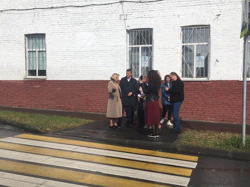 пешеходный переход к школе №13